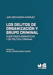 Libro Los Delitos De Organizacion Y Grupo Criminal