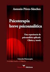 Libro Psicoterapia Breve Psicoanalitica