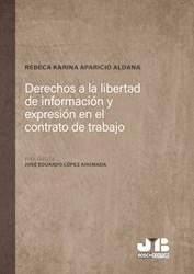 Libro Derechos A La Libertad De Informacion Y Expresio