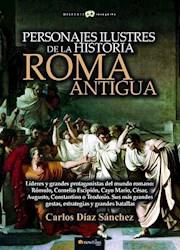 Libro Personajes Ilustres De La Historia : Roma Antigua