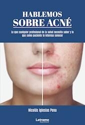Libro Hablemos Sobre Acne