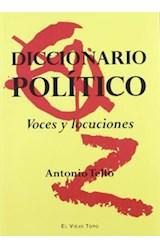 Papel DICCIONARIO POLITICO VOCES Y LOCUCIONES