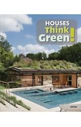 Papel HOUSES THINK GREEN [INGLES - ESPAÑOL] (CARTONE)