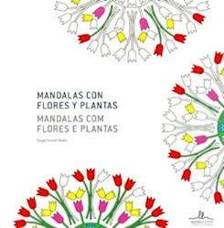 Libro Mandalas Con Flores Y Plantas