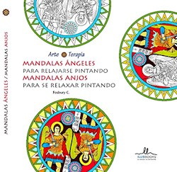 Libro Mandalas Angeles Para Relajarse Pintando