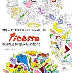 Libro Mandalas Picasso Para Relajarse Pintando