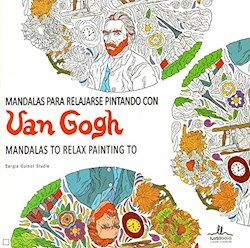 Libro Mandalas Van Gogh Para Relajarse Pintando