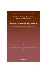 Papel PENSAR EUROPA DESDE AMERICA