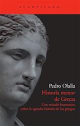 Papel HISTORIA MENOR DE GRECIA