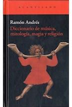 Papel DICCIONARIO DE MUSICA, MITOLOGIA, MAGIA Y RELIGION
