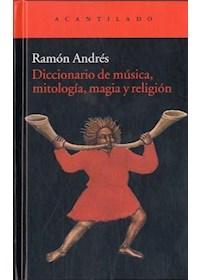 Papel Diccionario De Musica, Mitologia, Magia Y Re