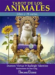 Libro Tarot De Los Animales (Libro + 78 Cartas)