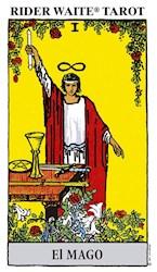 Libro Rider Waite Amarillo El Mago (Libro + Cartas) Tarot