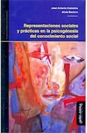 Papel REPRESENTACIONES SOCIALES Y PRACTICAS EN LA PSICOGENESI  S DEL CONOCIMIENTO SOCIAL