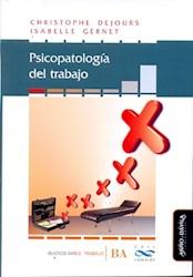 Libro Psicopatologia Del Trabajo