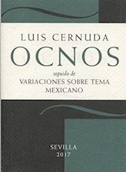 Papel Ocnos, Seguido De Variaciones Sobre Tema Mexicano
