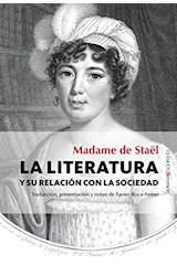 Papel LA LITERATURA Y SU RELACION CON LA SOCIEDAD