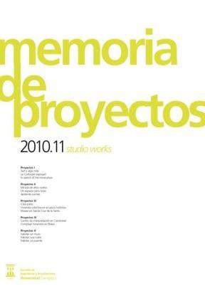 E-book Memoria De Proyectos 2010-11