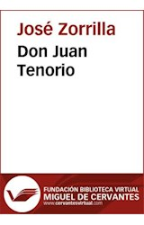 E-book Don Juan Tenorio