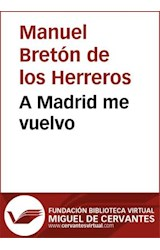 E-book A Madrid me vuelvo
