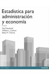 E-book Estadística para administración y economía