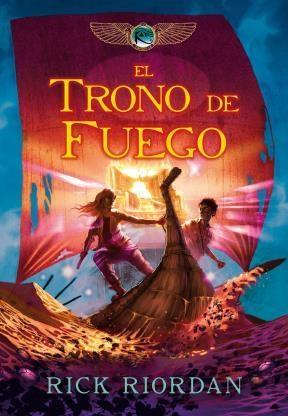 E-book El Trono De Fuego (Las Crónicas De Los Kane 2)