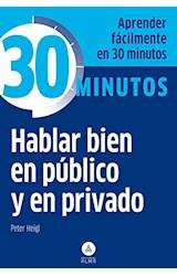 Papel 30 MINUTOS HABLAR BIEN EN PUBLICO Y EN PRIVADO
