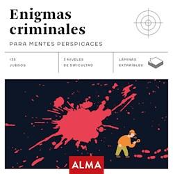 Libro Enigmas Criminales Para Mentes Perspicaces (Cuadros De Diversion)