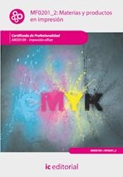 Libro Materias Y Productos En Impresion. Argi0109 - Imp