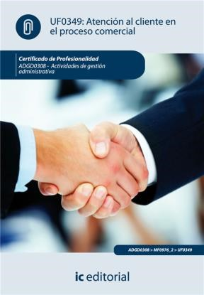 E-book Atención Al Cliente En El Proceso Comercial