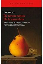 Papel DE RERUM NATURA DE LA NATURALEZA