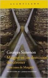 Papel Maigret En Los Dominios Del Coroner