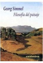 Papel FILOSOFIA DEL PAISAJE