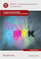 Libro Materias Y Productos En Impresion. Argi0310 - Imp