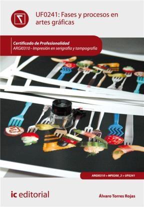 E-book Fases Y Procesos En Artes Gráficas