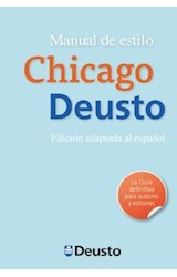 Papel MANUAL DE ESTILO CHICAGO-DEUSTO