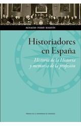 E-book Historiadores en España