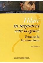 Papel HILARE TU MEMORIA ENTRE LAS GENTES 2 VOLS.