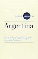 Papel HISTORIA MINIMA DE ARGENTINA
