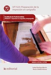 Libro Preparacion De La Impresion En Serigrafia. Argi