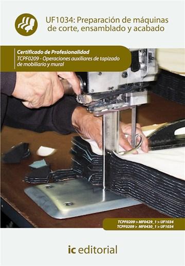 Papel Preparación De Máquinas De Corte, Ensamblado Y Acabado. Tcpf0209 - Operaciones Auxiliares De Tapizad