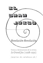 Papel EL GRAN JUEGO REVELACION / REVOLUCION