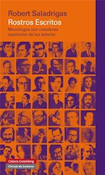 Libro Rostros Escritos