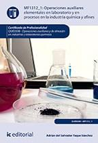 Libro Operaciones Auxiliares Elementales En Laboratorio