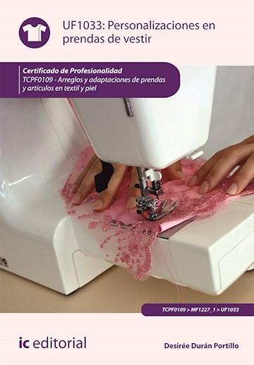 Papel Personalizaciones En Prendas De Vestir. Tcpf0109 - Arreglos Y Adaptaciones De Prendas Y Artículos En