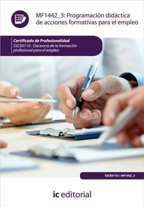 E-book Programación Didáctica De Acciones Formativas Para El Empleo