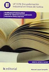 Libro Encuadernacion Industrial En Lineas De Rustica.