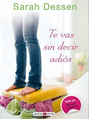 E-book Te Vas Sin Decir Adiós