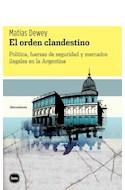 Papel ORDEN CLANDESTINO (COLECCION DISCUCIONES 2045) (RUSTICA)
