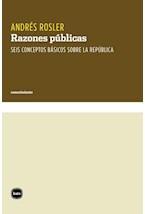 Papel RAZONES PUBLICAS